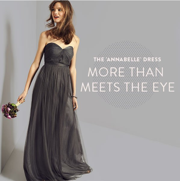 THE 'ANNABELLE' DRESS - MORE THAN MEETS THE EYE