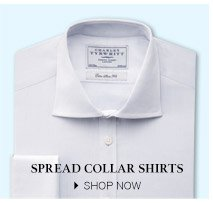Spread Collar Shirts - SHOP NOW