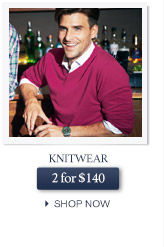 Knitwear 2 for $140 - SHOP NOW