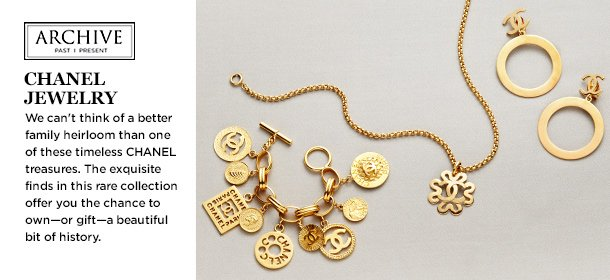 ARCHIVE: CHANEL Jewelry