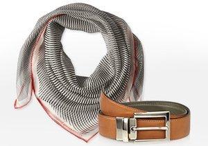 Italian Luxe: Belts & Scarves