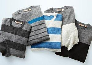 Final Few: Cashmere Crewneck Sweaters