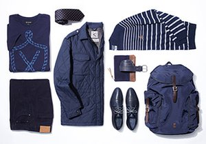 From Head to Toe: Navy Blue