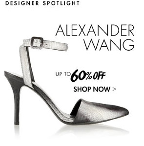 ALEXANDER WANG UP TO 60% OFF