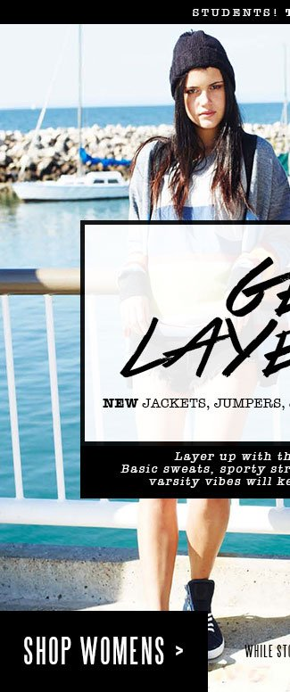 Shop Womens New Jackets, Jumpers, Jeans, Hoodies and Sweats