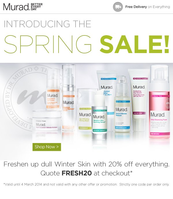 Introducing the Murad Spring Sale!