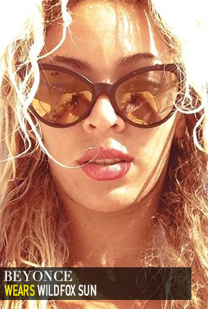 Beyonce in Wildfox Sun