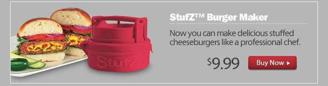 StufZ™ Burger Maker As Seen on TV