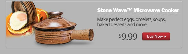 As Seen on TV Stone Wave™ Microwave Cooker
