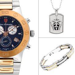 Men's Day: Jewelry & Watches for Him