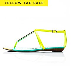 Yellow Tag Sale: Heels, Flats & more