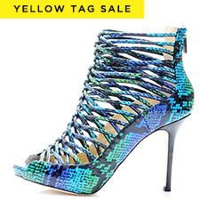 Yellow Tag Sale: Luxe Designer Shoes