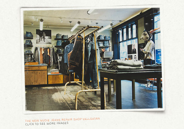 Nudie Jeans Repair Shop