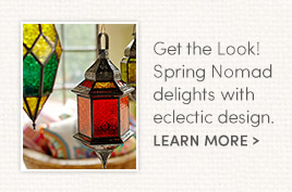 Get the Look! Spring Nomad delights with eclectic designs.