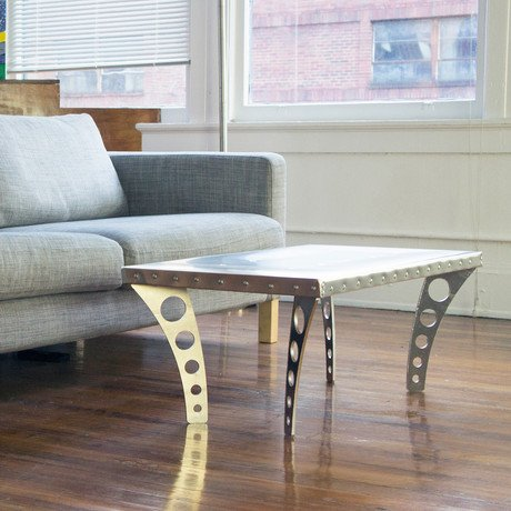 Jetset Coffee Table // Aluminum