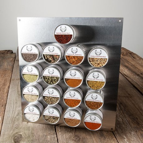 Ultimate Gourmet Salt & Artisan Spice Blend Collection // Set of 17