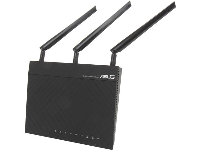 ASUS RT-N66R Dual-Band Wireless-N900 Gigabit Router Manufacturer Recertified
