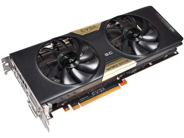 EVGA SuperClocked w/ ACX Cooling GeForce GTX 770 02G-P4-2774-KR Video Card