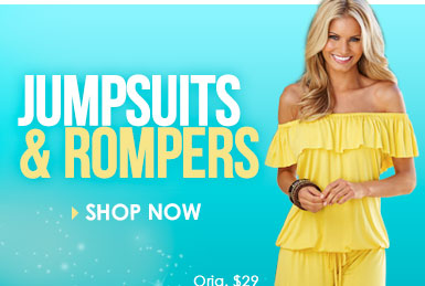 Always in Style! SHOP Jumpsuits and Rompers