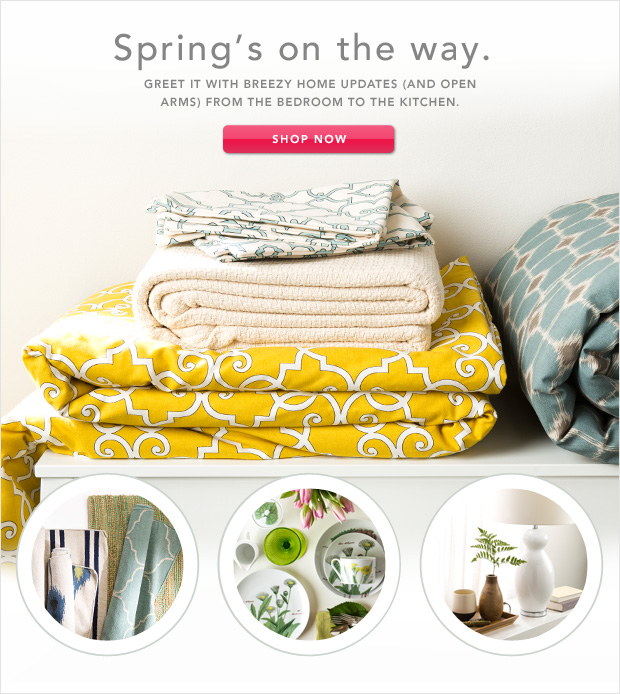 Welcome, Spring: Updates to Awaken Your Home