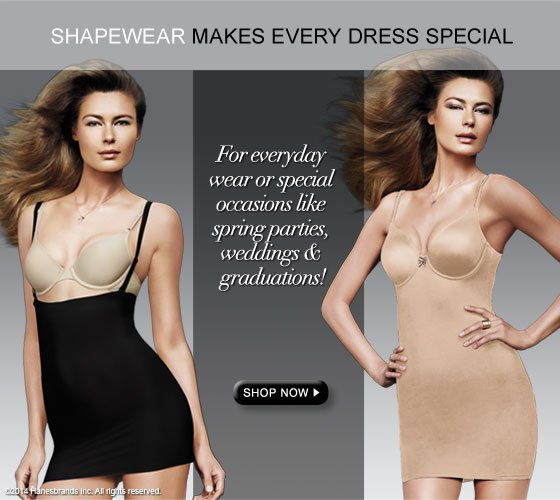 Shapewear Makes Every Dress Special: For everyday wear or special occasions like spring parties, weddings & graduations!