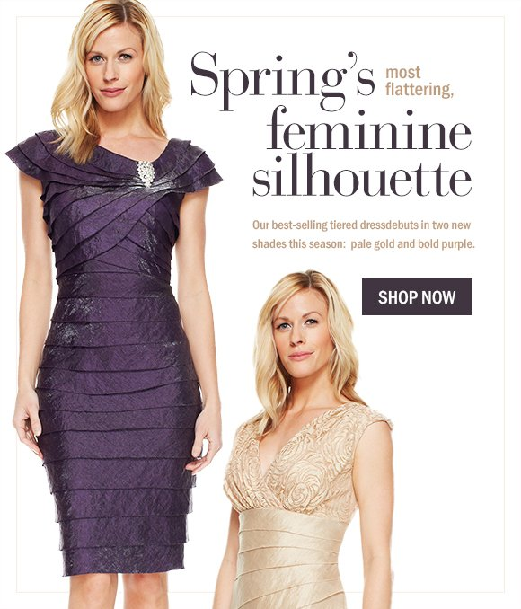 Spring's most flattering silhouette