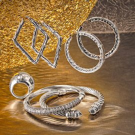 Sterling Shine: Women's Jewelry