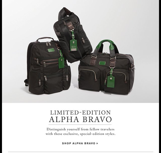 Limited-Edition Alpha Bravo - Shop Now