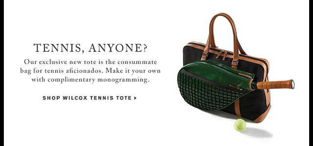 Shop Wilcox Tennis Tote - Shop Now