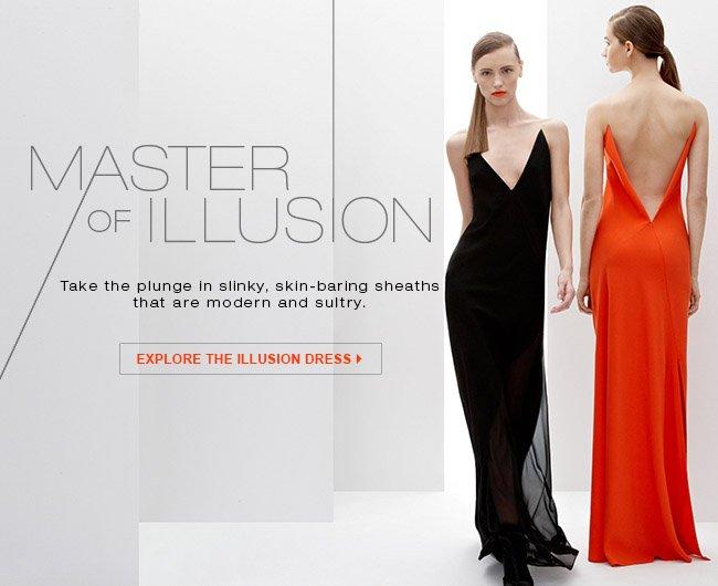 EXPLORE ILLUSION DRESS