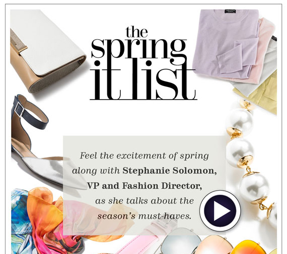 The Spring It List