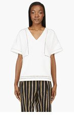 BAND OF OUTSIDERS White T-Shirt for women