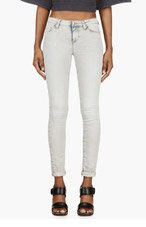 IRO Light Grey Skinny Cole Jeans for women