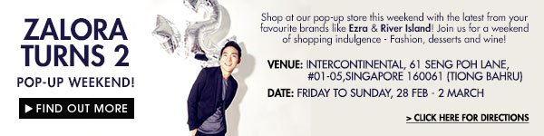 Visit Our Pop Up Store! Friday to Sunday