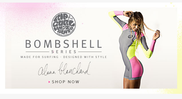Bombshell Series - Made for Surfing - Designed with Style - Alana Blanchard