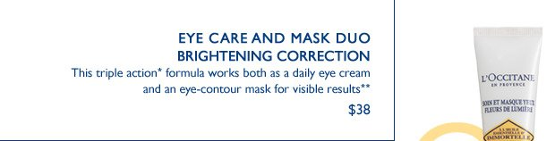 Eye Care Mask Duo Brightening Correction