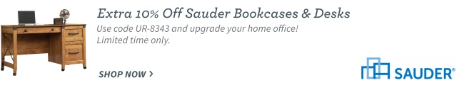 Sauder Bookcases and Desks