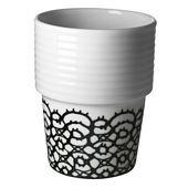 Filippa K Coffee/Tea Mug 2 pcs Lace