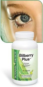 Bilberry promotes vision, hair, and nail health
