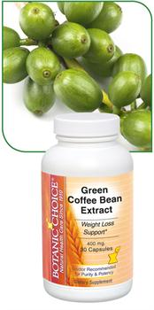 Green Coffee Bean Extract, Weight Loss