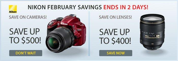 Adorama - Instant Savings on Nikon Lenses