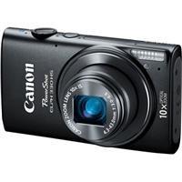 Adorama - Canon PowerShot ELPH 330 HS Digital Camera, Black - Bundle
