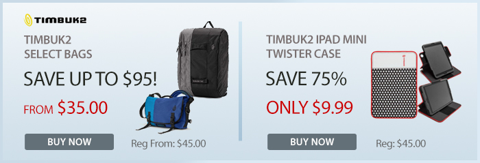 Adorama - Timbuk 2 iPad Mini Twisters and Shoulder Bags