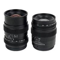 Adorama - SLR Magic 2 Lens Bundle with 17mm T1.6 and 35mm T f/1.4 Cine II Lens for Micro Four Thirds Mount