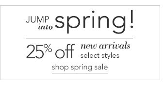 Click here to shop the Spring Sale.