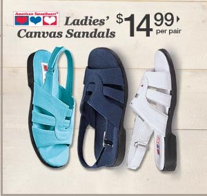 Shop Canvas Sandals