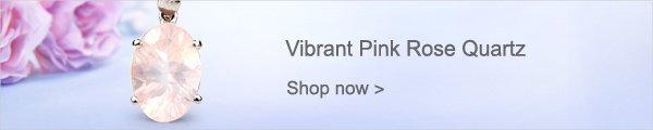 Vibrant Pink Rose Quartz