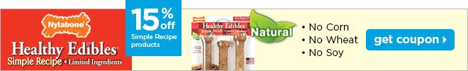 Healthy Edibles - 15% off simple recipe products.