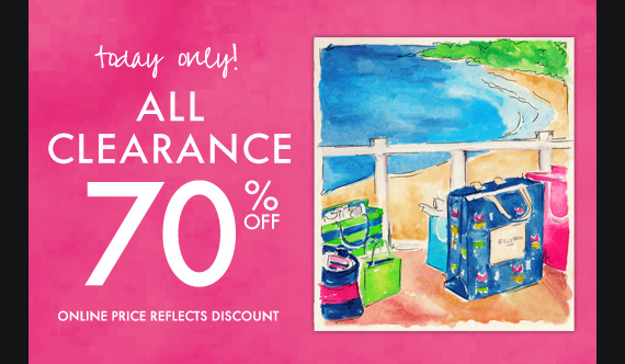 today only! ALL CLEARANCE 70% OFF ONLINE PRICE REFLECTS DISCOUNT