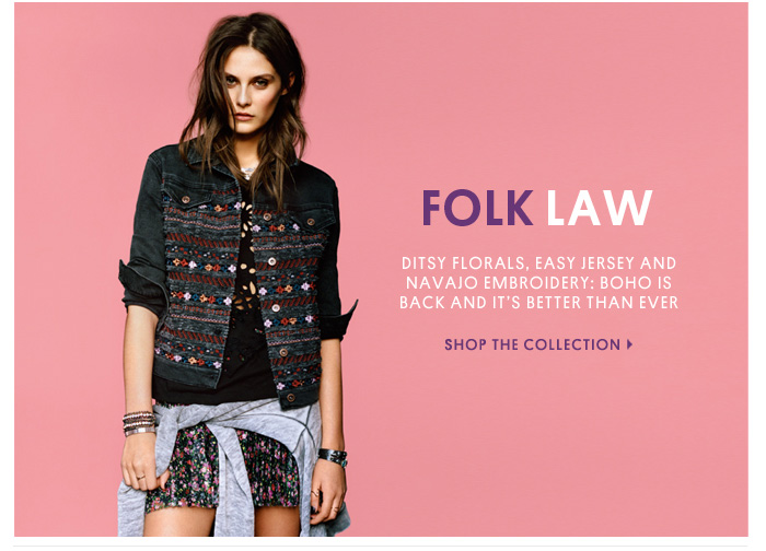 FOLK LAW- Shop The Collection